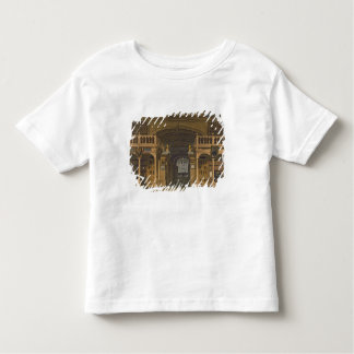Interior of the Bodleian Library, illustration fro Toddler T-shirt