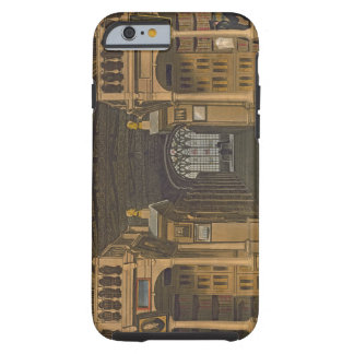 Interior of the Bodleian Library, illustration fro Tough iPhone 6 Case