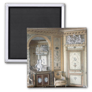 Interior of the boudoir of Marie Antoinette 2 Inch Square Magnet