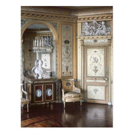 Interior of the boudoir of Marie Antoinette Postcards