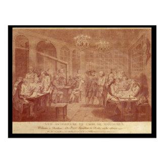 Interior of the Cafe Manouri, c.1775 Post Card