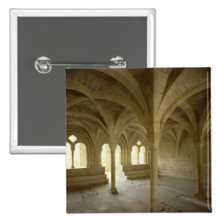 Interior of the Chapter House, 12th-13th century Pinback Button
