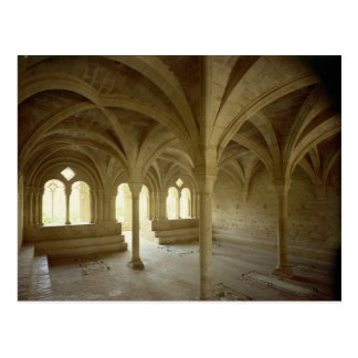 Interior of the Chapter House, 12th-13th century Postcard