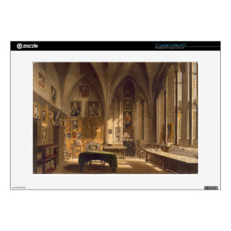 "Interior of the Chapter House, illustration from t 15"" Laptop Decal"