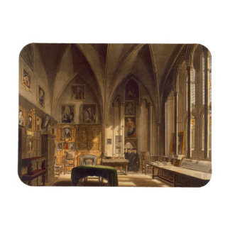 Interior of the Chapter House, illustration from t Rectangular Photo Magnet