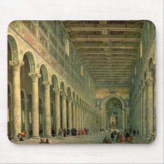 Interior of the Church of San Paolo Fuori le Mouse Pad