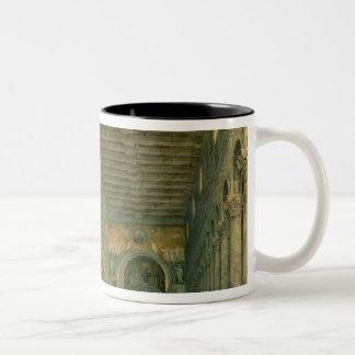 Interior of the Church of San Paolo Fuori le Two-Tone Coffee Mug