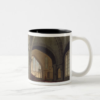 Interior of the Church of the Holy Sepulchre, Camb Two-Tone Coffee Mug