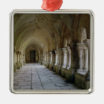 Interior of the cloister 2 christmas ornament
