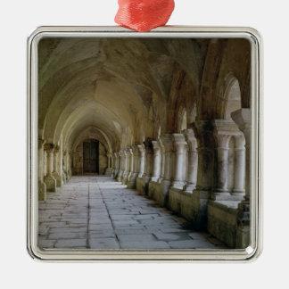 Interior of the cloister 2 christmas ornament