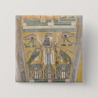 Interior of the coffin of Imenemipet Button
