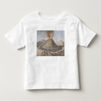 Interior of the Cone of Vesuvius Before the 1767 E Toddler T-shirt