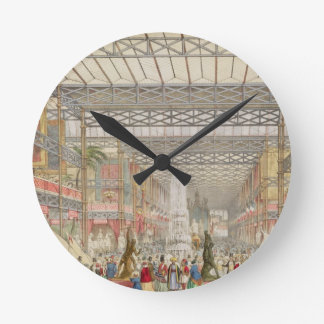 Interior of the Crystal Palace, pub. by Stannard a Wall Clocks
