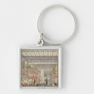 Interior of the Crystal Palace, pub. by Stannard a Keychain