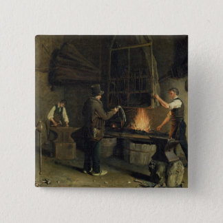 Interior of the Forge, 1837 Button