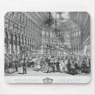 Interior of the 'Grand Cafe Parisien', Paris Mouse Pad