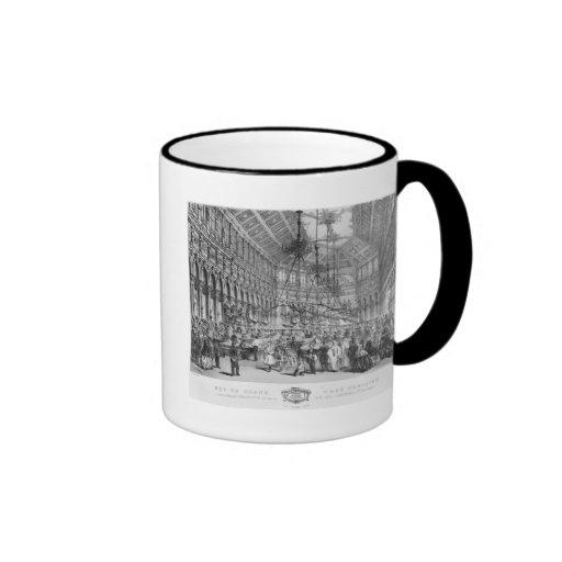 Interior of the 'Grand Cafe Parisien', Paris Ringer Coffee Mug