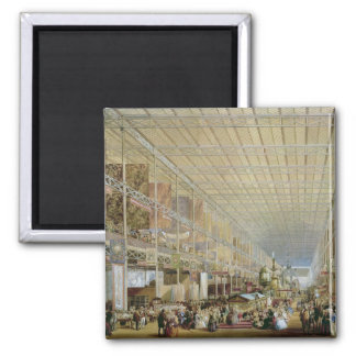 Interior of the Great Exhibition of All Nations, 1 Magnet