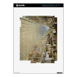 Interior of the Great Exhibition of All Nations 1 Decal For iPad 3