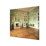 Interior of the Green Dining Room Canvas Print