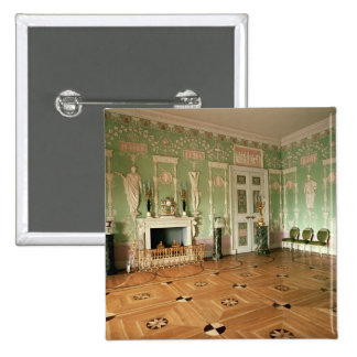 Interior of the Green Dining Room Pinback Button