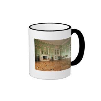 Interior of the Green Dining Room Ringer Mug