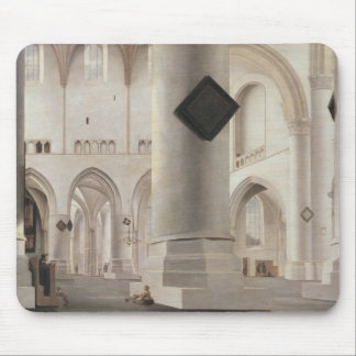 Interior of the Grote Kerk, Amsterdam, c.1637 Mouse Pad