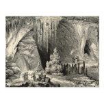 Interior of the Grotto of Antiparos Postcard