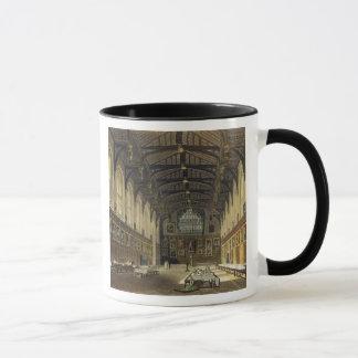 Interior of the Hall of Christ Church, illustratio Mug