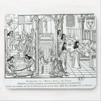 Interior of the Hotel Dieu hospital Mouse Pad
