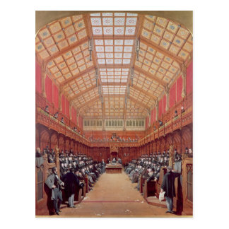 Interior of the House of Commons Postcard