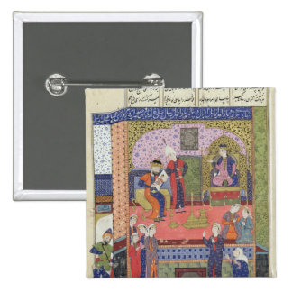 Interior of the King of Persia's Palace 2 Inch Square Button