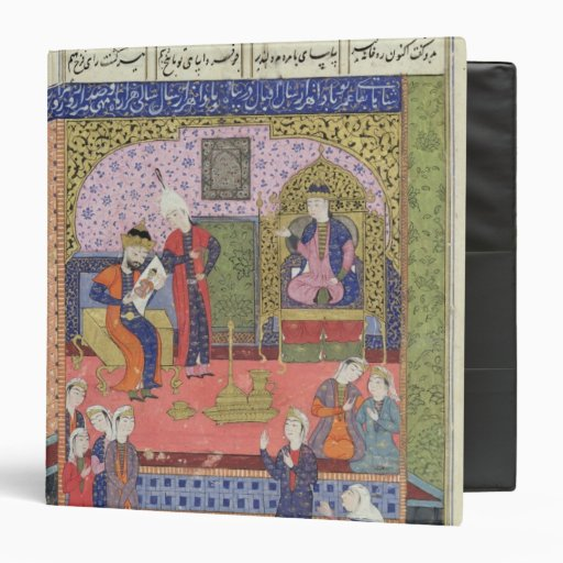 Interior of the King of Persia's Palace Binders