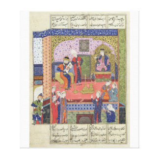 Interior of the King of Persia's Palace Canvas Print