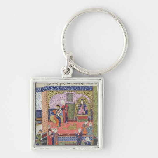 Interior of the King of Persia's Palace Keychain