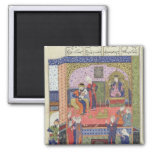 Interior of the King of Persia's Palace 2 Inch Square Magnet