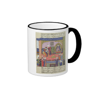 Interior of the King of Persia's Palace Ringer Coffee Mug