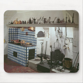Interior of the kitchen of the Hotel de Cabris Mouse Pad