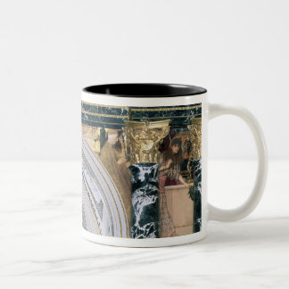 Interior of the Kunsthistorisches Museum Two-Tone Coffee Mug