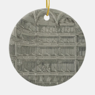 Interior of the Late Theatre Royal, Drury Lane, in Ceramic Ornament
