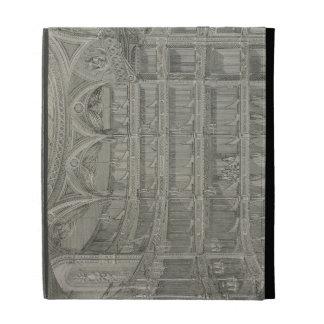 Interior of the Late Theatre Royal, Drury Lane, in iPad Folio Cover