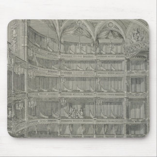 Interior of the Late Theatre Royal, Drury Lane, in Mouse Pad