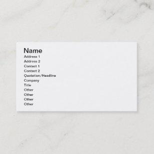 Mackenzie Business Cards Zazzle