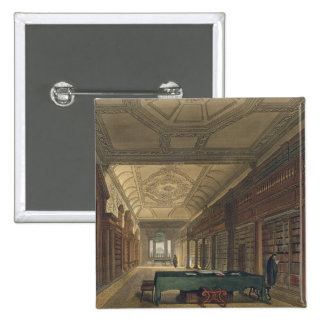 Interior of the Library of Christ Church, illustra Button