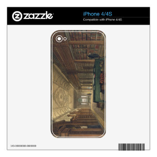 Interior of the Library of Christ Church, illustra Decal For The iPhone 4S