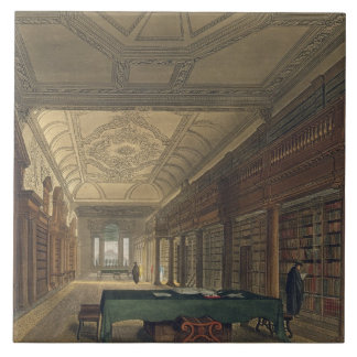 Interior of the Library of Christ Church, illustra Tile