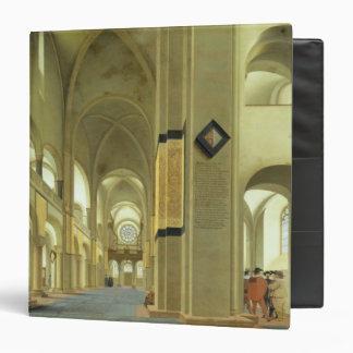 Interior of the Marienkirche in Utrecht 1638 Vinyl Binder