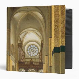Interior of the Marienkirche in Utrecht 1638 3 Ring Binders