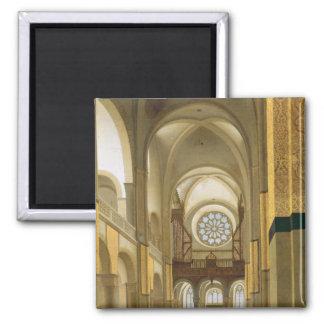 Interior of the Marienkirche in Utrecht 1638 Refrigerator Magnet