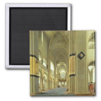Interior of the Marienkirche in Utrecht 1638 Magnets